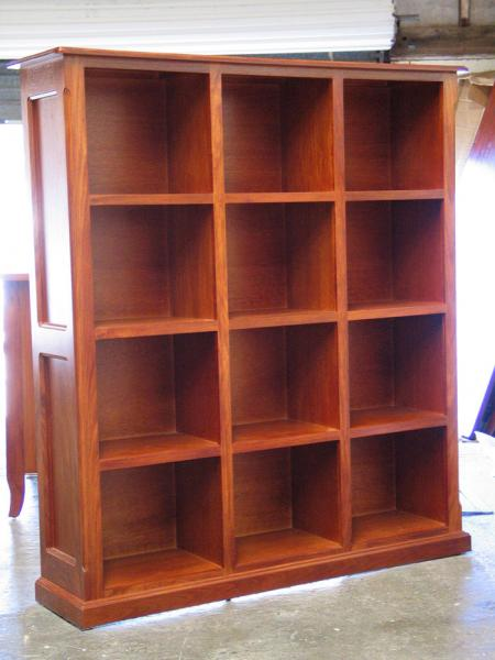 CUSTOM MADE BOOKCASE/DISPLAY UNIT