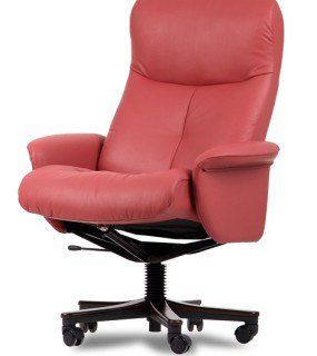 IMG LEATHER KINGSTON OFFICE CHAIR