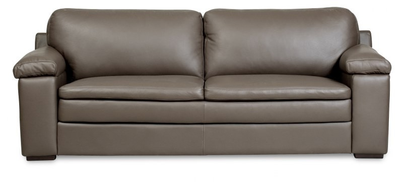 IMG LEATHER PORTSEA 3 SEATER LOUNGE SOFA