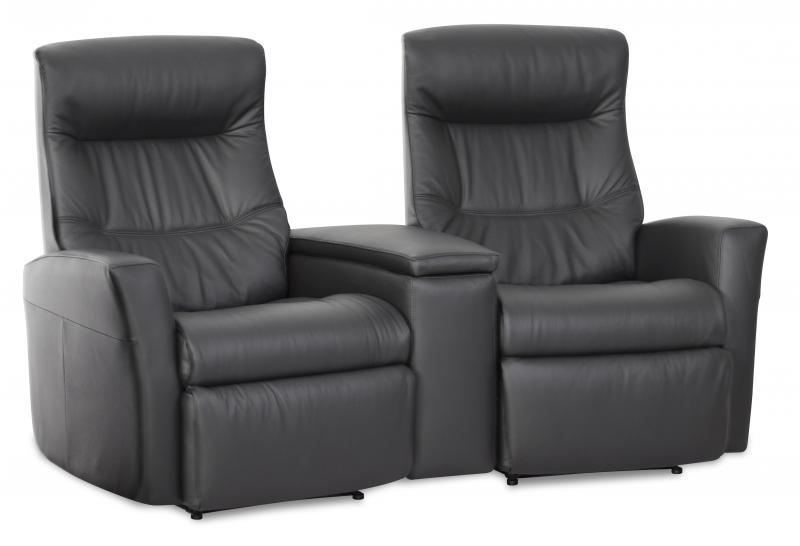 IMG LEATHER SILVERSTONE 2 SEATER RECLINER LOUNGE