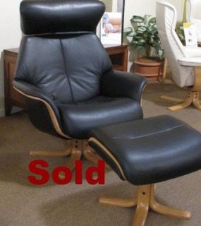 IMG CLEARANCE LEATHER RECLINER SPACE 57.57