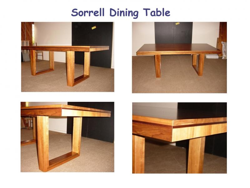 SORRELL DINING TABLE