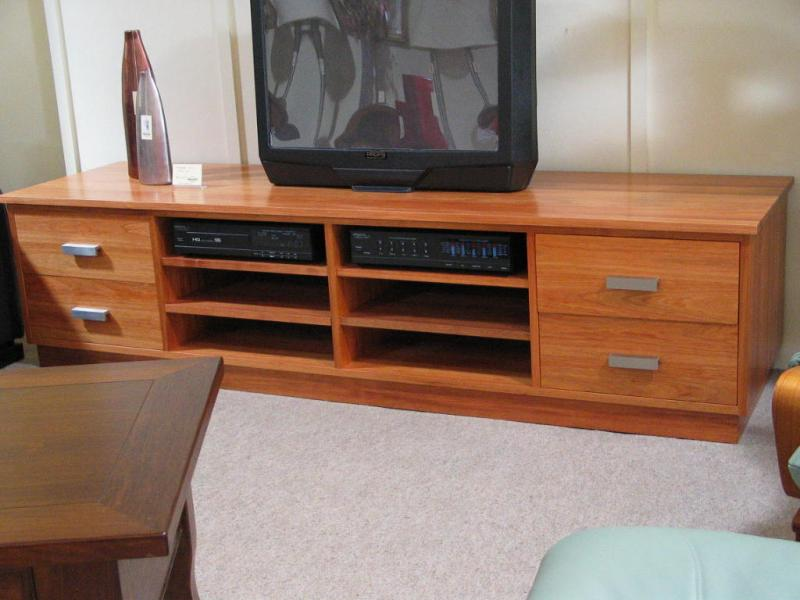 TRAFFORD TV STAND AUDIO ENTERTAINMENT UNIT