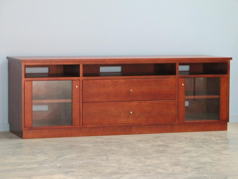 CLIFTON SPECIAL DESIGN TV AUDIO UNIT TV STAND TASMANIAN OAK
