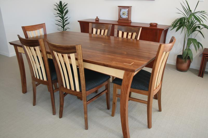 NORWOOD DINING TABLE WITH REGAN CHAIRS