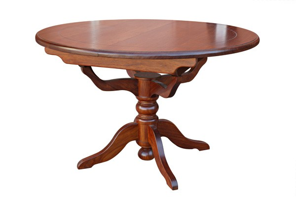 PEDESTAL EXTENSION DINING TABLE