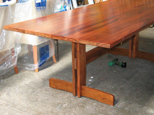 CUSTOM MADE REFECTORY DINING TABLE