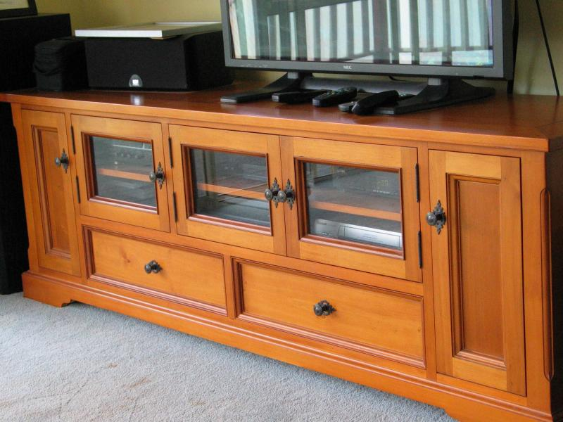 CUSTOM MADE AUBURN TV UNIT 1