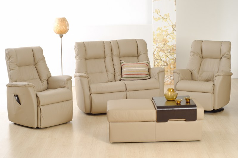 IMG LEATHER BRANDO RECLINER LOUNGE SUITE