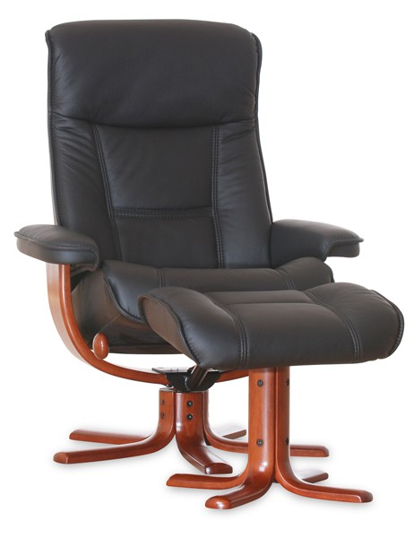 IMG LEATHER NORDIC 21 RECLINER CHAIR