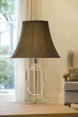 CLEVEDON LAMP WITH SHADE