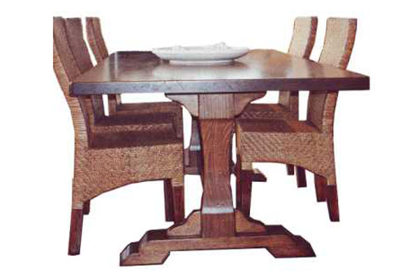 ALPINE REFECTORY DINING TABLE
